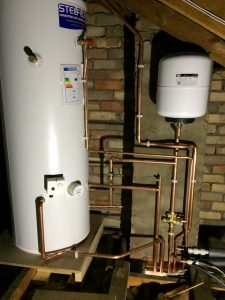 Hot Water tank repairs Mirfield, Huddersfield CJ Heating