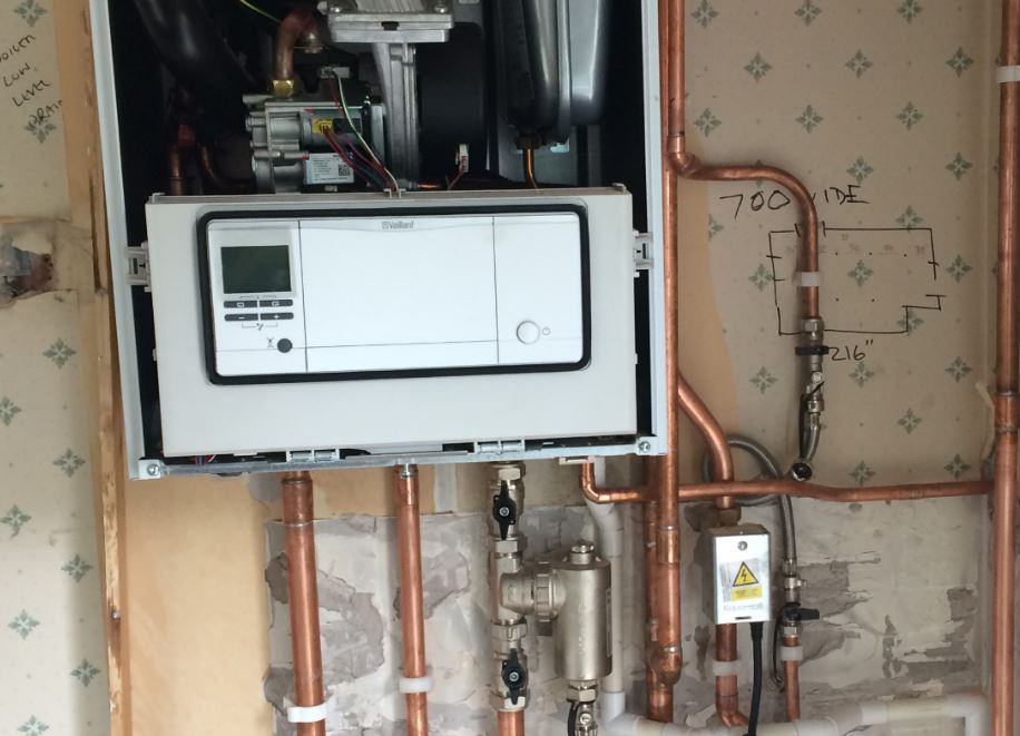 Gas heating installation - CJ Heating and Gas Specialist