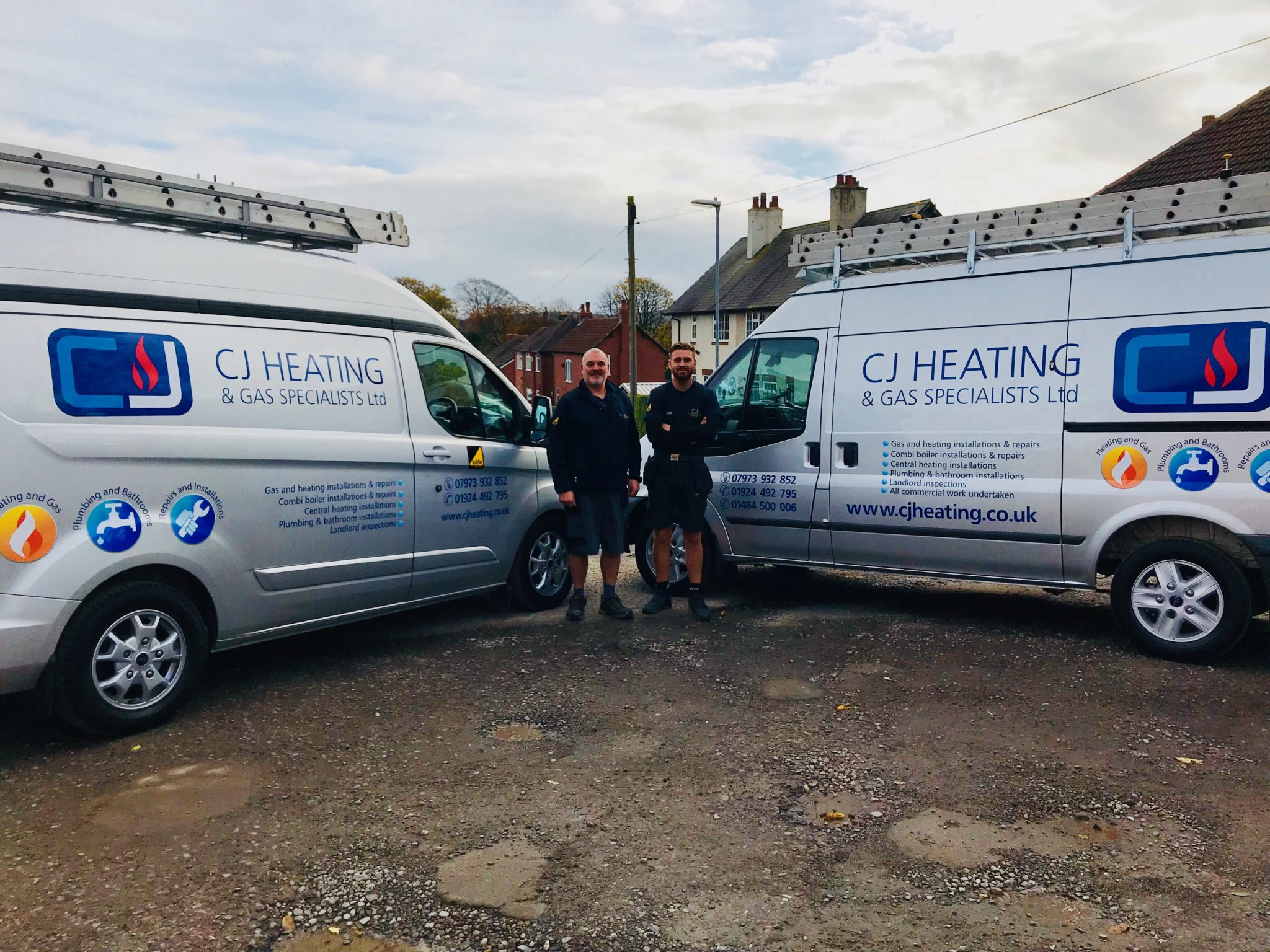 CJ Heating and plumbing